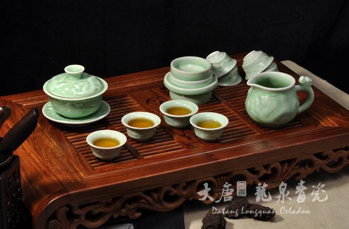 大唐红茶具使用步骤图片
